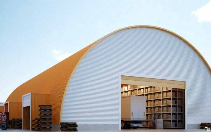 БМЗ быстромонтируемые здания, склады, , цеха, ангары