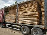 Oak lumber/timber/board unedged, half-edged, edged - photo 1