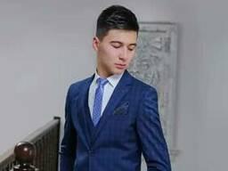 Slim men suits from Uzbekistan