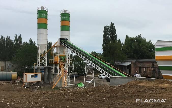Бетонный завод. FABO- Powermix-130