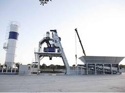 Быстромонтируемый бетонный завод F-90 (90 м3/ч) Швеция