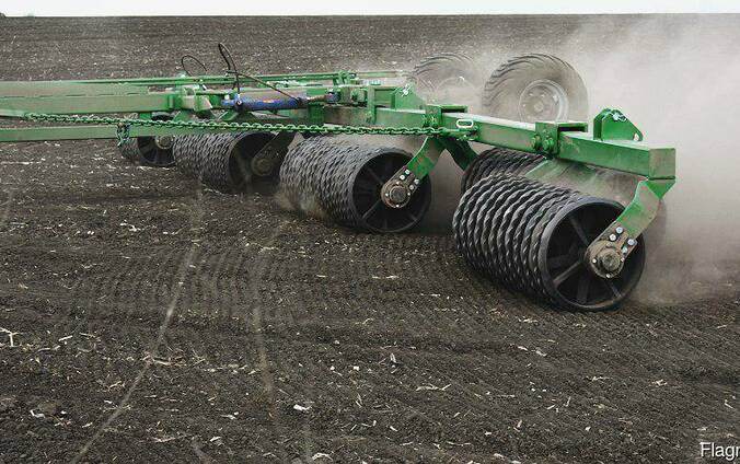 """Hydraulic foldable roller """"Land Roller"""""""