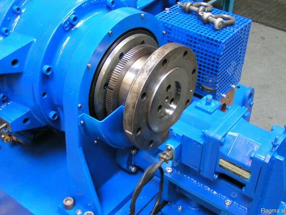 Test bench with hydraulic brake 16 MW and more