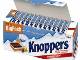 Top German Knoppers 25g, Milka Chocolates 100g and 300g for