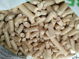 We sell wood pellets