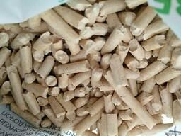 We sell wood pellets
